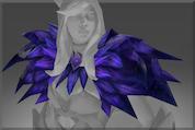 Genuine Shoulders of the Black Wind Raven