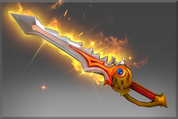 Genuine Rapier of the Burning God Offhand