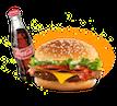 Бургер и Кола для Пуджа