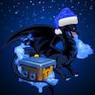 Новогодний Черный Дракон