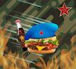 Десантный бургер и кола
